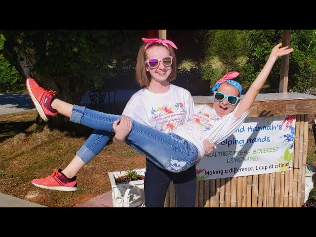 North Carolina Sisters Use Lemonade Stand to Pay Lunch Debt