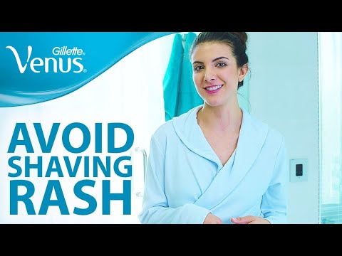 Want To Avoid Shaving Rash And Razor Bumps? Hair Removal Tips | Gillette Venus