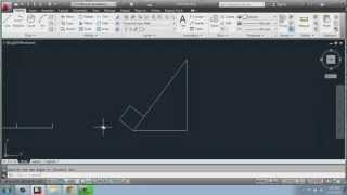AutoCAD 2013 - 2D Drafting Basics - Part 18 - Rotate - Brooke Godfrey