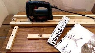 DIY Jigsaw Cutting Station