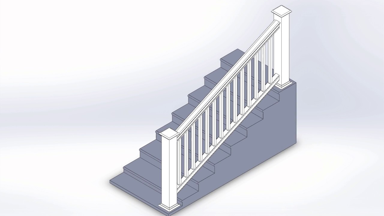 Liberty Extruded U0026 Routed Rail System   Patent Approved Stair Rail System