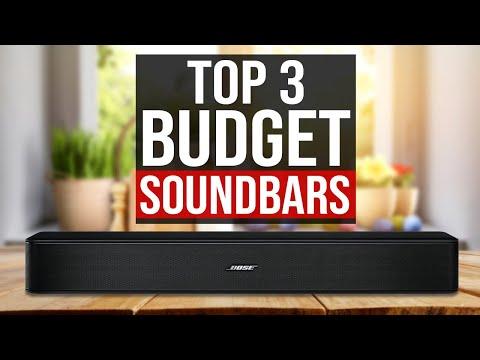 TOP 3: Best Budget Soundbar 2020