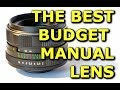 BEST Budget Manual Lens for Video and Photo - Hellios 44m-4 Review