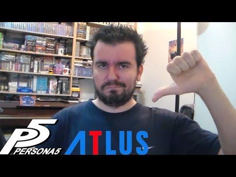 PERSONA 5 y ATLUS - El copyright contraataca de nuevo