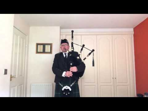 Tam The Piper - The Sands Of Kuwait - Bagpipes