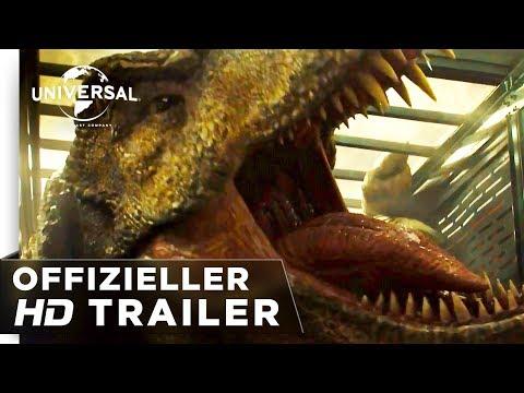 Jurassic World: Das Gefallene Königreich Trailer #3 deutsch/german HD