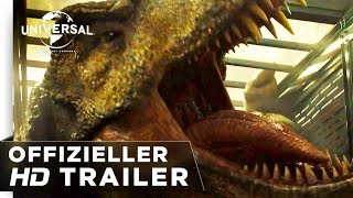Jurassic World: Das Gefallene Königreich Trailer #3 deutsch/german HD