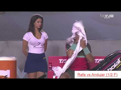 Gorgeous HOT GIRLS of Rafael NADAL - Great moments @ Rio Open 2014