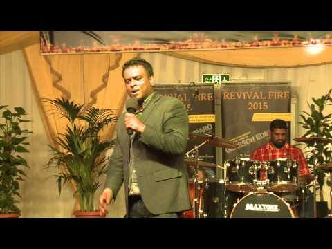 Revival Fire 2015   Day 2   LIve Qatar with Eva  Gersson Edinbarro, Word of God Church