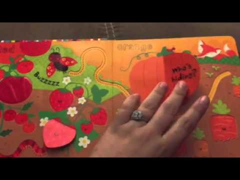 Usborne baby's very first touchy-feely colors playbook