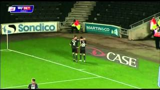 MK Dons flashback - Lewis Guy scores a great goal