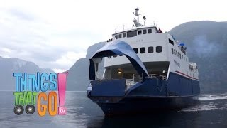 Fjord Ferry: Boat Videos For Kids| Children| Toddlers. Preschool & Kindergarten Learning.