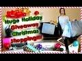 Huge Holiday Giveaway CHRISTMAS SHOPPING!!!!