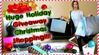 Huge Holiday Giveaway CHRISTMAS SHOPPING!!!! Thumbnail