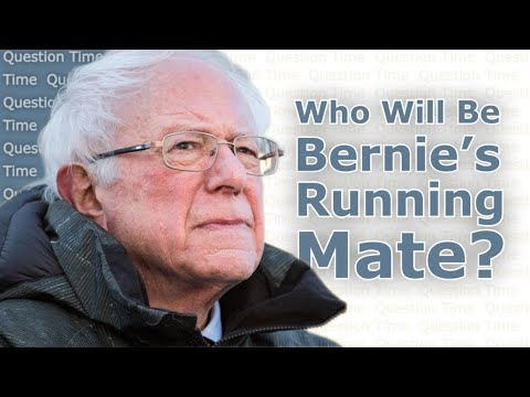BERNIE SANDERS Running Mate for the 2020 Election