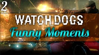 """WATCH OUT THERE'S A TRAIN"" - Watch Dogs Funny Moments 