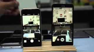 Asus Zenfone 2 Laser Vs iPhone 6 Low Light & Laser Auto Focus Test