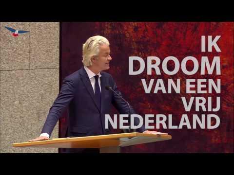 Zendtijd voor Politieke Partijen PVV november 2016
