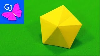 видео Как сделать бриллиант из бумаги (эксклюзивная упаковка подарка)