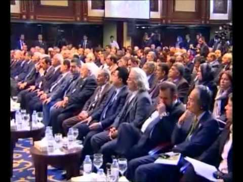 Gov. Central Bank Iraq at UAB conference Baghdad