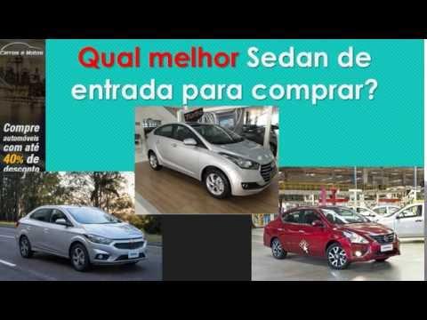 Qual melhor Sedan de entrada para comprar?