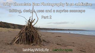 Lockdown Inspiration - Chocolate Box Landscapes. Part 2 #deconstructedlandscape #stcyrus #seascape