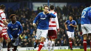 Highlights: Portsmouth 2-2 Doncaster Rovers