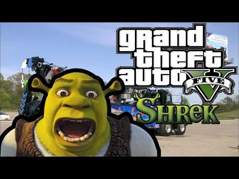 GTA 5 SHREK ÇEKİCİ MODU (GTA 5 Modları)