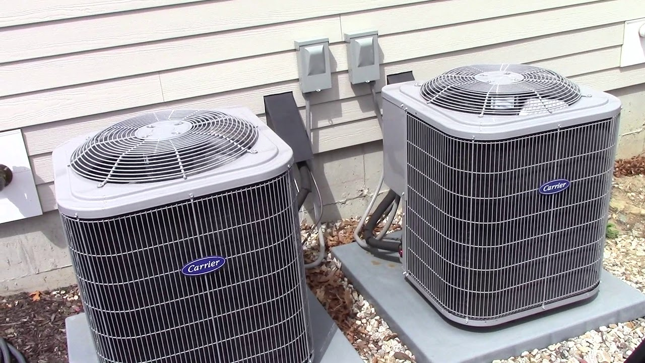 2016 Carrier Air Conditioner And Air Handler Season