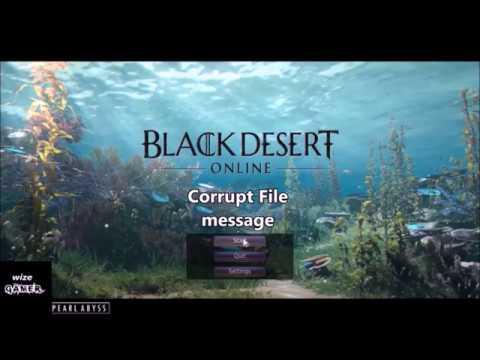 Black Desert Online Game, Launch Errors Resolved   Explain