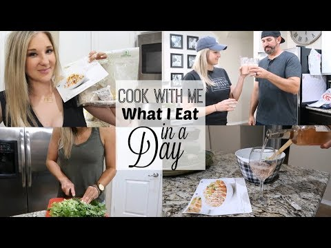 COOK WITH ME 2018   WHAT I EAT IN A DAY VLOG  Brittani Boren Leach