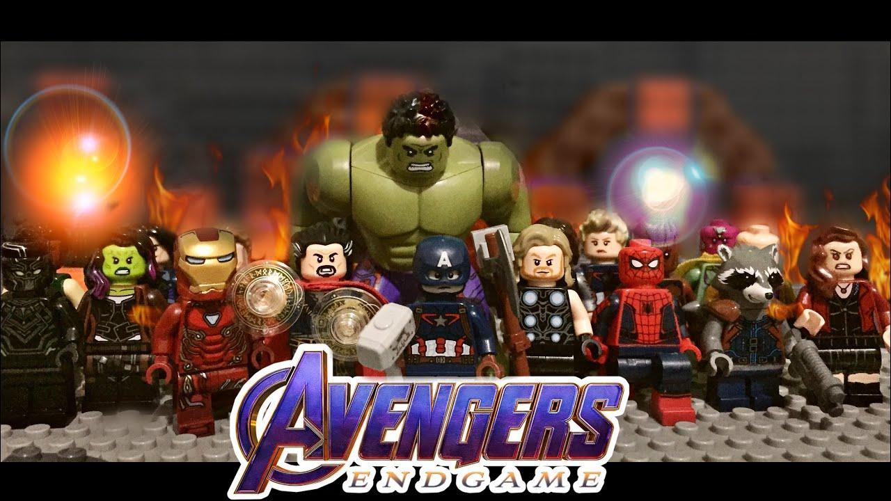 LEGO Avengers Endgame Final Battle: Avengers Assemble ...