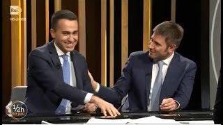 Luigi Di Maio - Alessandro Di Battista a Mezz'ora in più (INTEGRALE) 25/2/2018