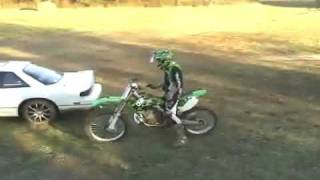 Dirt bike Jumping Drifting Car