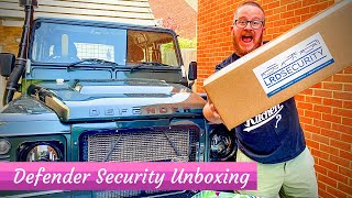 Land Rover Defender Security - UNBOXING