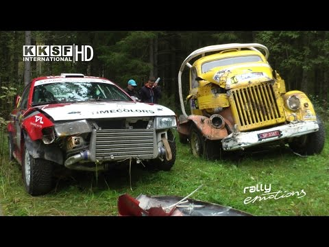 Tartu Rally 2016 | CRASHES, MISTAKES, JUMPS