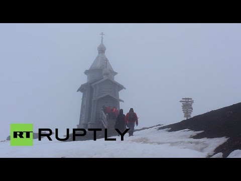 Antarctica: See inside the southernmost Russian Orthodox Church