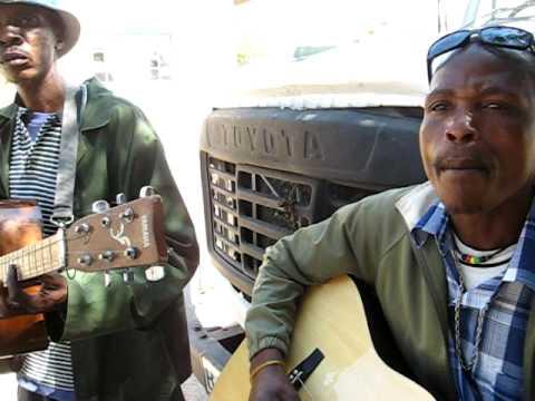 Botswana Music Guitar  - Solly & Western -