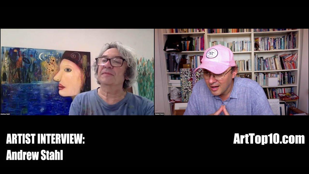 ArtTop10.com - Andrew Stahl artist Interview