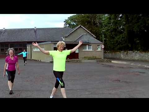 Hartree Harriers, Ministry of silly walks warm up routine