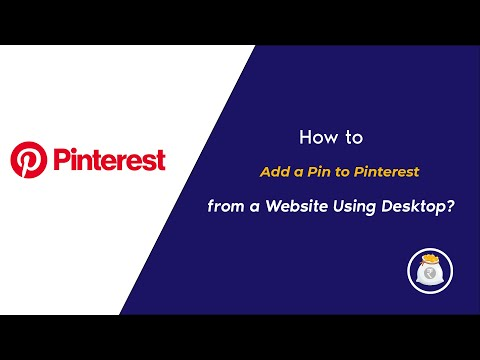 How to Add Pin to Pinterest from a Website using Desktop?