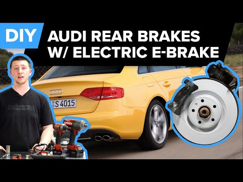 Audi B8 S4 Rear Brake Replacement DIY – Brake Rotors & Pads (Audi S4, S5, & SQ5)