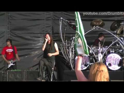 [FHD] Korn - Alone I Break @ Live In Moscow. Maxidrom 2011