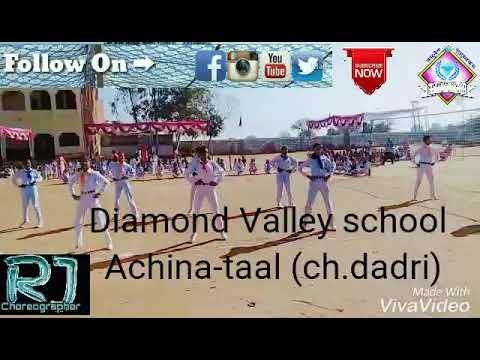 Brazil song || basic aerobics dance || Sportsmeet program 2018 || Diamond valley school