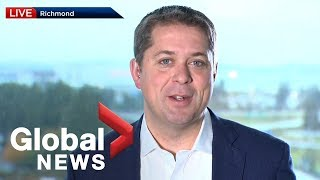 Canada Election: Scheer says Conservatives have run 'a very positive campaign'