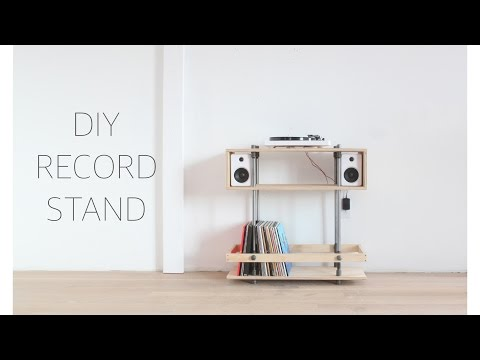 DIY Record Stand