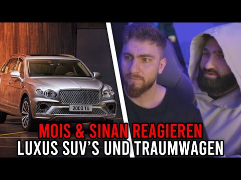 Mois REAGIERT auf LUXUS SUV's und TRAUMWAGEN 🚘 Mois REAGIERT