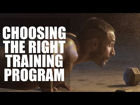 How to choose a right training program