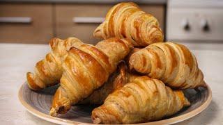 Πανεύκολα Κρουασάν Σοκολάτας με 3 Υλικά - 3 Ingredient Croissant Recipe