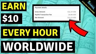Earn $10 every 60 Minutes - Available Worldwide 🔥🔥🔥